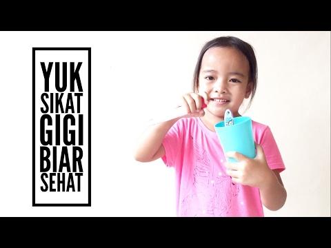 Yuk Sikat Gigi - Cara Sikat Gigi Yang Benar Ala Zara | HOme Schooling