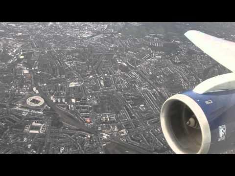 MUST WATCH!!  British Airways B767-300 Amsterdam - London Heathrow