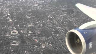 MUST WATCH!!  British Airways B767-300 Amsterdam - London Heathrow