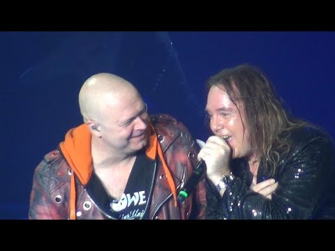 HELLOWEEN - PUMPKINS UNITED World Tour - 26.11.2017 Bratislava with my camera...