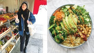 WHAT I EAT IN A DAY | COME FOOD SHOPPING WITH ME & GROCERY HAUL