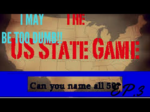 LET'S PLAY : THE 50 STATES GAME-CAN YOU GUESS ALL THE STATES?