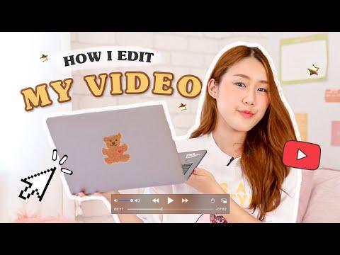How i edit my video 🎬ตัดคลิปยูทูปยังไง? เผยความลับของช่อง Peanut Butter