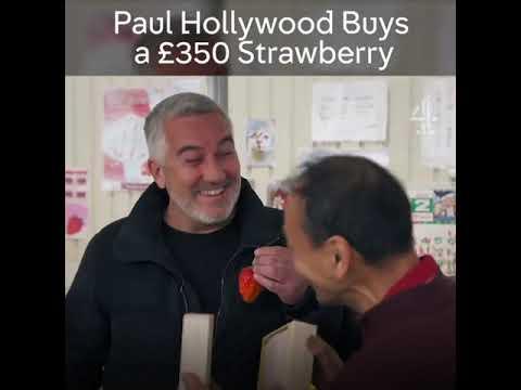 Strawberries Cost £350