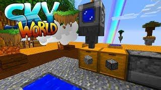 Mobfarm! Bessere Siebe! Stackweise Eisen! - Minecraft SKY WORLD #02