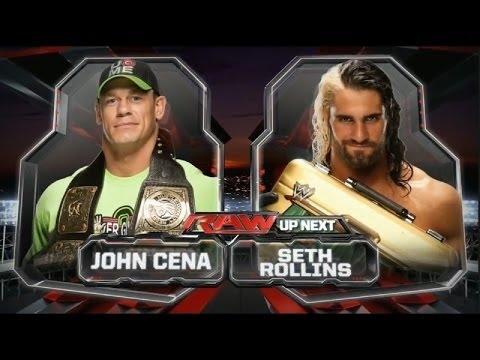 John Cena Vs Seth Rollins   Raw Latino 40