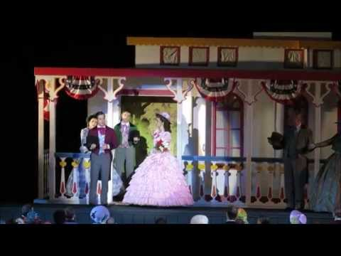 Stephen Foster Story Performs - My Old Kentucky Home