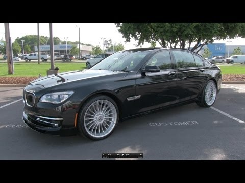 2013 2014 BMW Alpina B7 LWB Start Up Exhaust