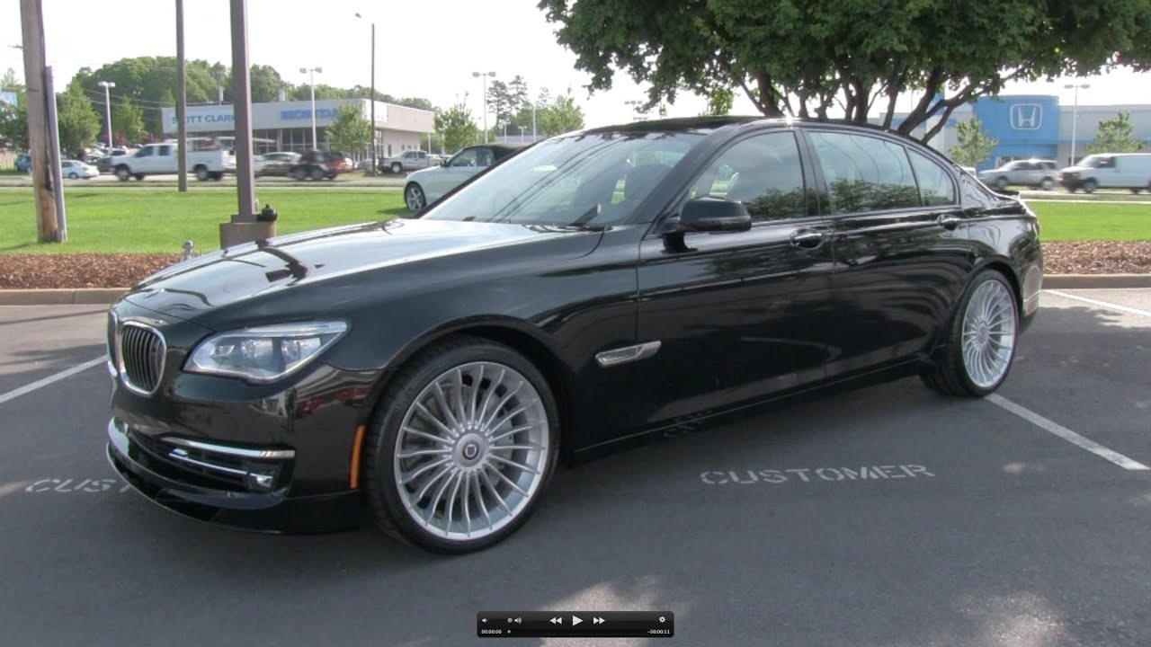 2013 2014 bmw alpina b7 lwb start up exhaust and in depth review youtube
