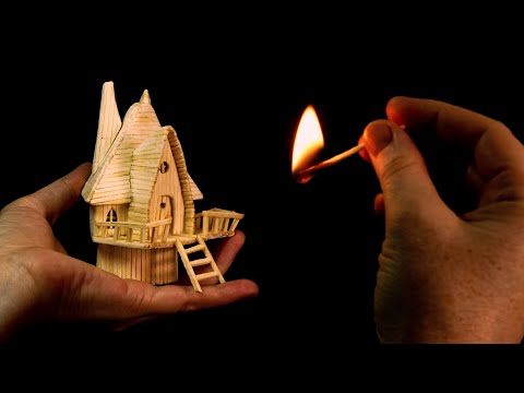 ❣DIY Miniature Fairy House Using Matches❣