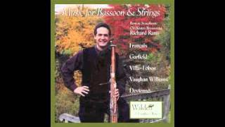 Quartet For Bassoon, Violin, Viola and Cello 1. Allegro Con Spirito