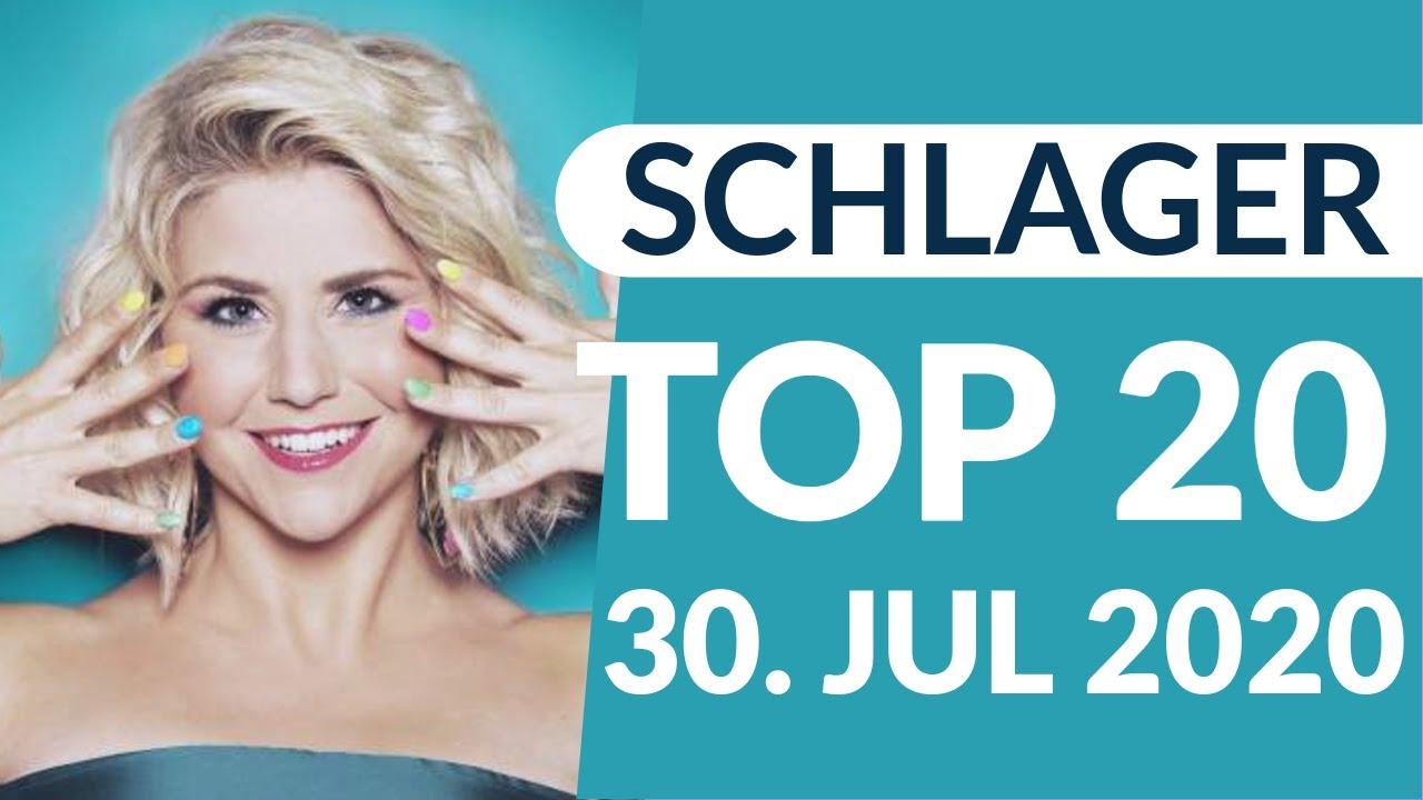 SCHLAGER CHARTS 2020 - Die TOP 20 vom 30. Juli