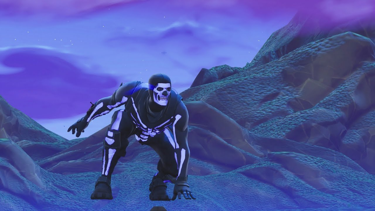14 Frag Solo Win Purple Skull Trooper Gameplay Fortnite Battle