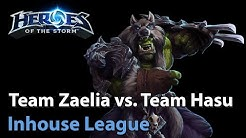 ► Team Zaelia vs. Team Hasu - Inhouse League Groupstage -Heroes of the Storm Esports