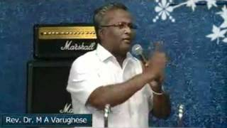 message on fellowship by rev dr m a varughese malayalam 01