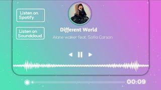 Kinemaster Gradient audio spectrum efforts Visualizer avve player template for artist @Alan Walker
