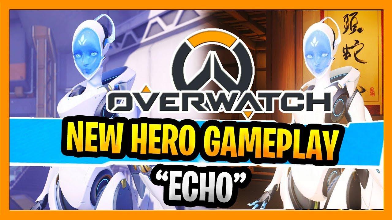 Download Overwatch New Hero Echo Gameplay New DPS Overwatch Hero PTR All Abilities And Ultimate Hero 32