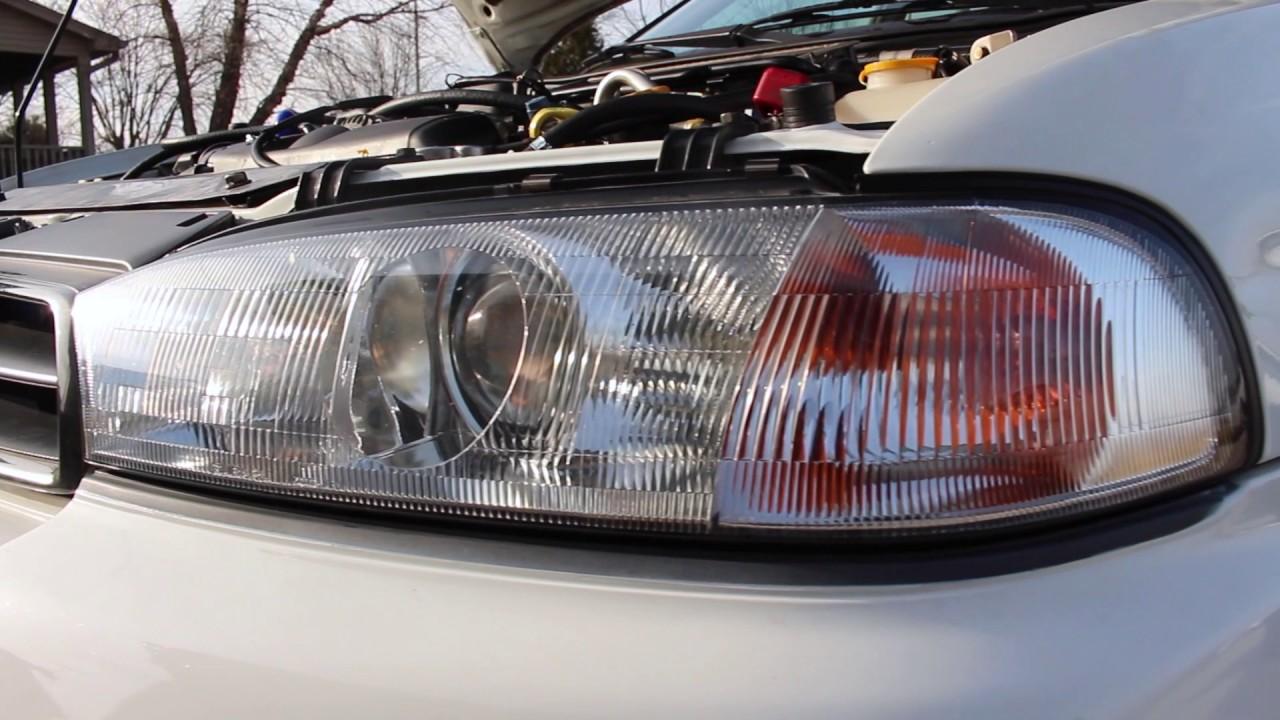 EJ205 STI 6MT Swapped 99 Legacy GT Wagon Beauty Shots