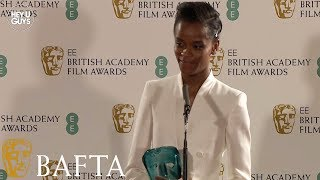 Letitia Wright EE Rising Star Award Winner - BAFTA Press Conference