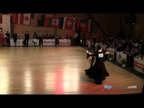 Tassilo Lax - Sabine Lax, Brno Open 2012, WDSF senior I standard, semifinal - quickstep