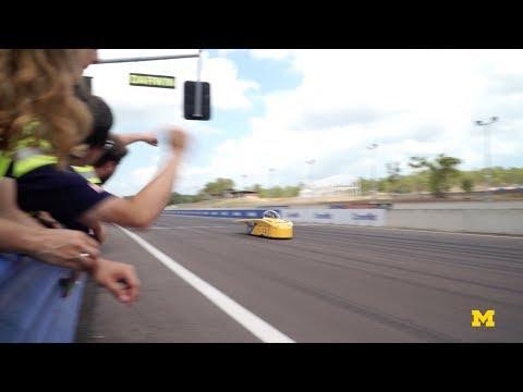 Michigan Solar Car Qualifies for the Bridgestone World Solar Challenge