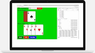 JavaScript HTML Game from Scratch Blackjack