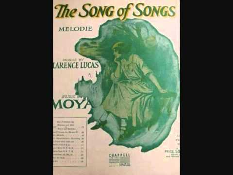 Richard Crooks - Song of Songs (1928)