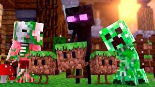 Minecraft - BLOCOS COM VIDA !! - Escola Monstro #03 | Monster School