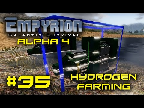 "Empyrion Alpha 4 - #35 - ""Hydrogen Farming"" - Empyrion Galactic Survival Gameplay Let's Play"