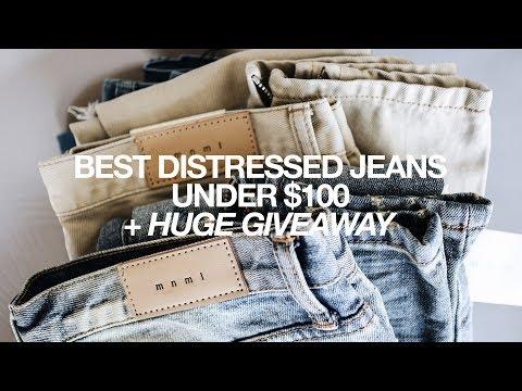 Best Distressed Jeans Under $100