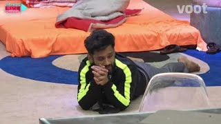 Bigg Boss 14 live feed contestants पर किया bigg Boss ने triple vaar