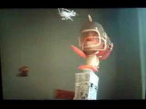 Chicken little 39 s fish out of water youtube for Fish from chicken little