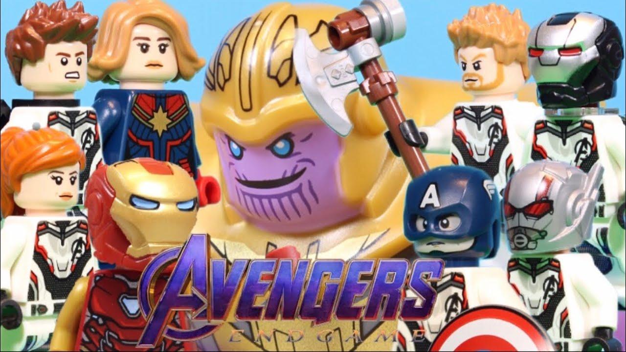 LEGO Avengers Endgame MOVIE: The Final Battle! - YouTube