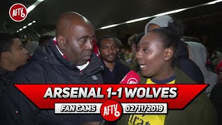 Arsenal 1-1 Wolves | Unai Emery Has Big Shoes To Fill! (Pippa Monique)
