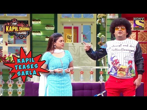 Kapil Teases Sarla - The Kapil Sharma Show