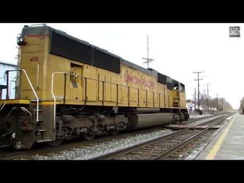 Beautiful EMD Sound on Union Pacific and CSX