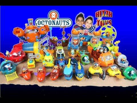 Octonauts All Gup's, Octo Lab,  Ocotpod Full Collection