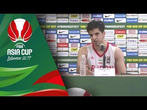 Iran v Korea - Press Conference - FIBA Asia Cup 2017