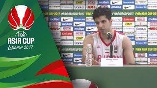 Iran v Korea - Live - Press Conference - FIBA Asia Cup 2017