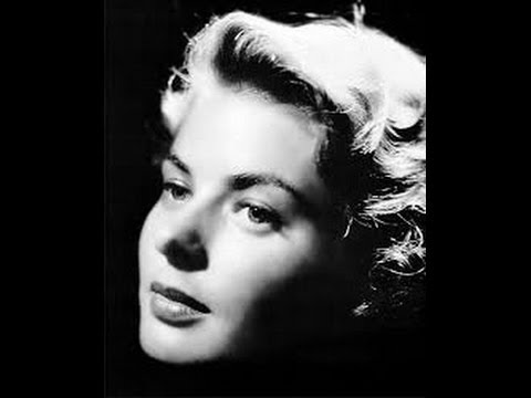 BARBRA STREISAND - AS TIME GOES BY (Herman Hupfeld) INGRID BERGMAN TRIBUTE