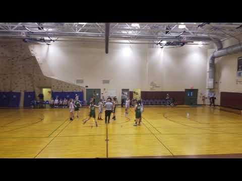 Gilford Middle School Girls vs Newfound 2-5-19