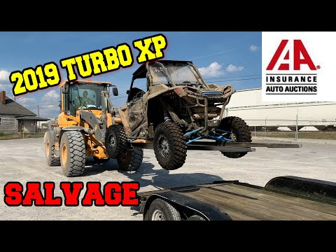 I Bought A SALVAGE Wrecked 2019 Polaris RZR TURBO XP from the AUCTION