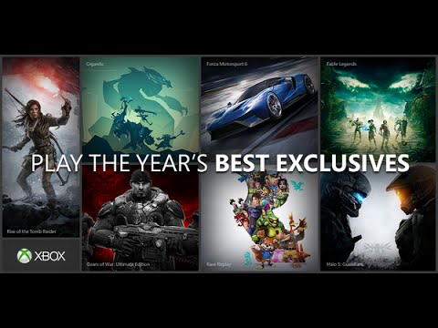 Top 15 Xbox One Exclusives of 2017 And Near Future
