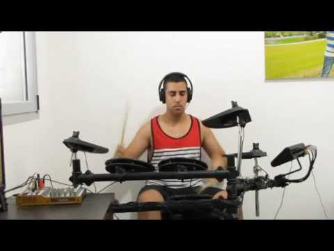 Skrillex - bangrang (Eliran Bibi - drum cover) HD