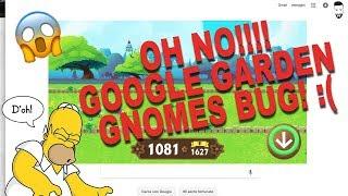 GOOGLE HISTORY OF GARDEN GNOMES GO CRAZY!!! Google Doodle Bug! nani da giardino bug