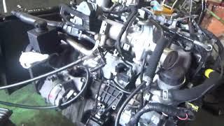 Проверка давления масла в двигателе 665925 12 562946  D27DT 2.7 л. Euro IV