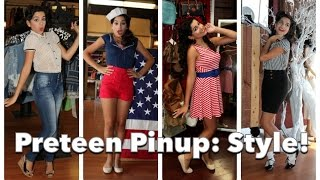 Teenage Pinup Part Three: Back to School Style! by CHERRY DOLLFACE Thumbnail