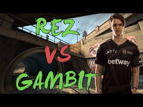 CSGO: POV NiP REZ vs Gambit (32/27) overpass @ DH Masters Malmö 2017