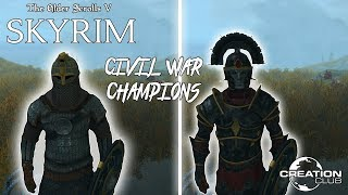 Skyrim SE: Civil War Champions (Creation Club)