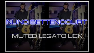 Nuno Inspired Muted Legato Lick
